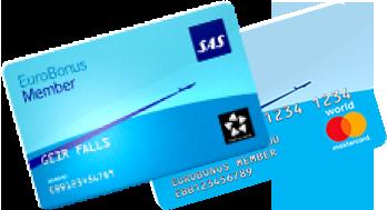 sas euro bonus world master card